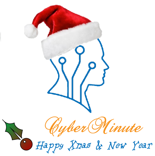 CyberMinute whishes you a merry Christmans and a happy New Year